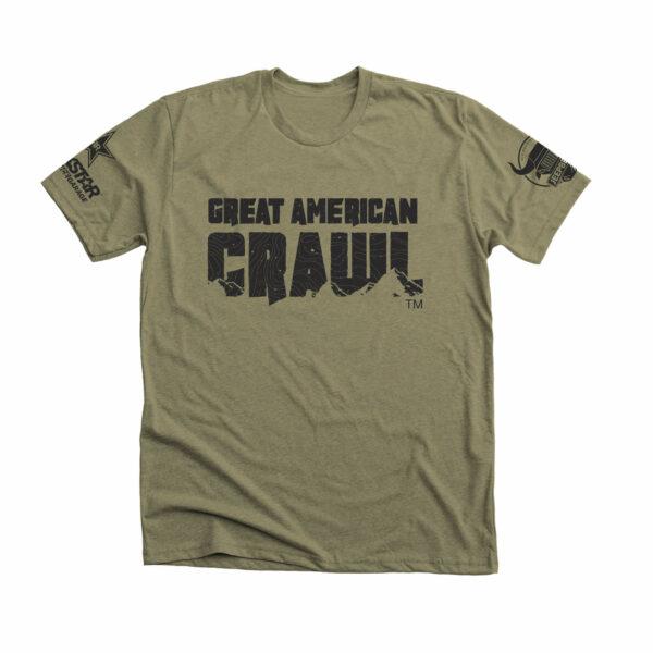Great American Crawl Classic Tee in Grdloc Green