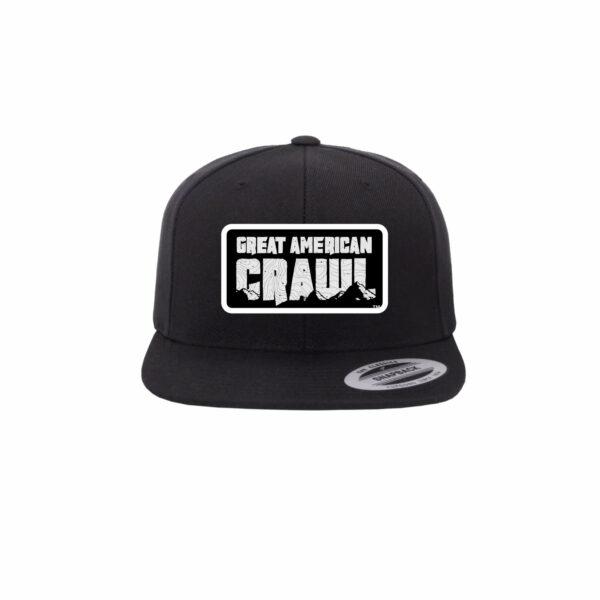 Official Great American Crawl Snapback Cap